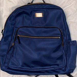 Large blue Kate spade backpack.